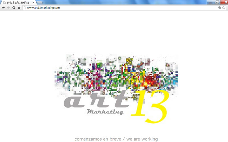 Web art13 Marketing